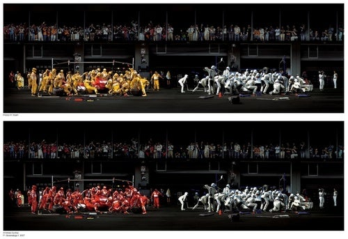 Andreas Gursky's Formula One Pattern Recognition