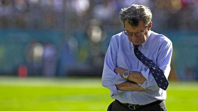 "Joe Paterno's Statement: ""With The Benefit Of Hindsight, I Wish I Had Done More"""