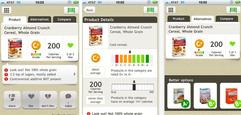 Fooducate App Explains Just How Unhealthy That Frozen Dinner Is