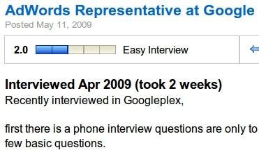 GlassDoor Searches and Tags Job Interview Questions