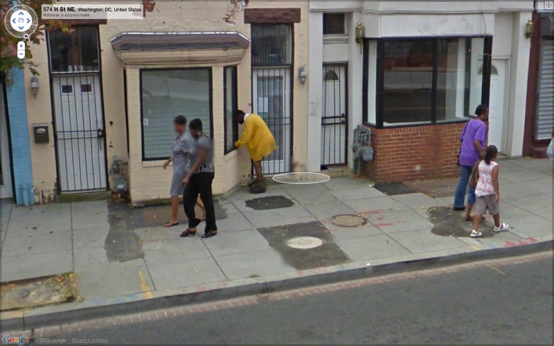 Google Street View Catches Sidewalk Dumping