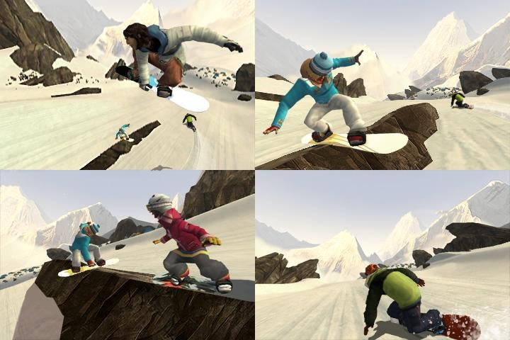 Shaun White Snowboarding Wii Screens Take You On A Road Trip
