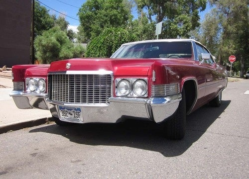 1970 Cadillac DeVille Convertible Down On The Denver Street