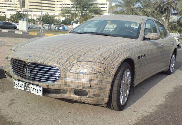 Maserati Quattroporte Burberry Edition: Ray's New Ride