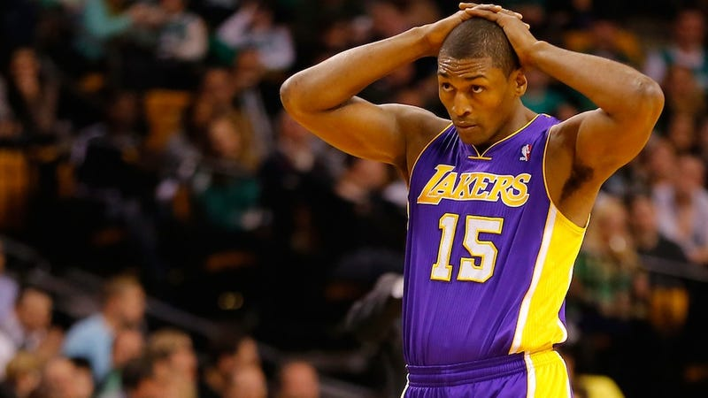 Finally, Someone Has Written The Perfect Metta World Peace Sentence