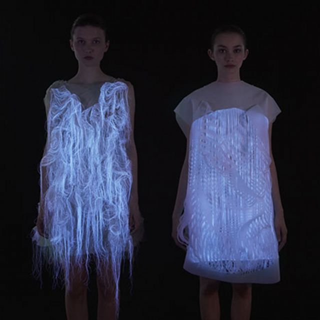 These gaze-activated dresses are the coolest thing you'll see all day