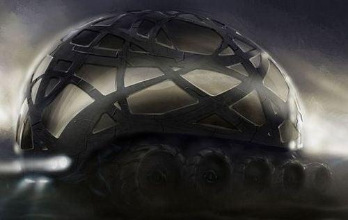 Nomad RV Provides Conceptual Peek at Dystopian Future Transportation