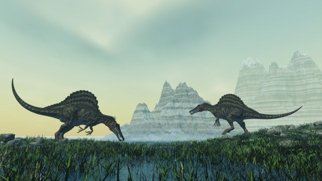 Giant asteroids might have began the age of dinosaurs as well as ended it