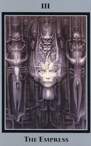 H.R. Giger Tarot cards always predict an unsettling future