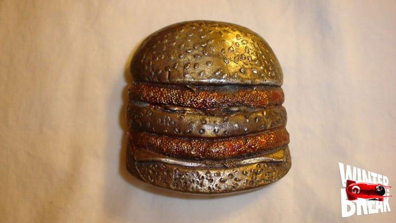 Hell Yeah, Here's a BIG MAC Belt Buckle