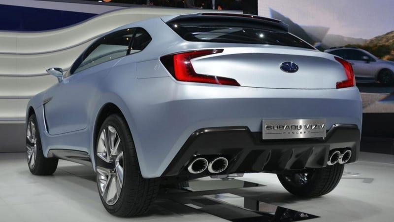 Subaru Viziv Concept: It has An Aston Grille, Too