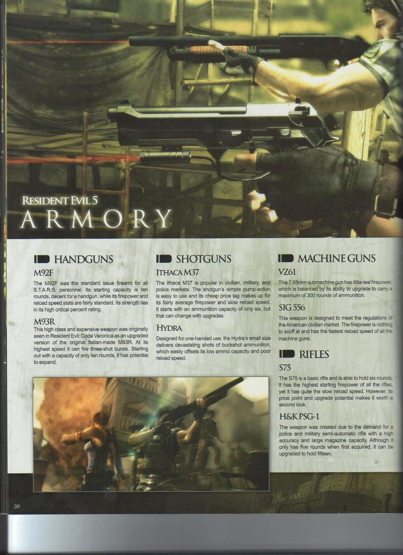 Resident Evil 5 Declassified Packed With RE Background, Details