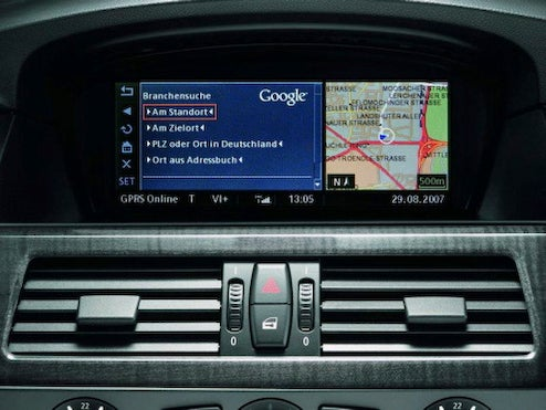 Google Search Coming To 2009 BMW 1- and 3-Series