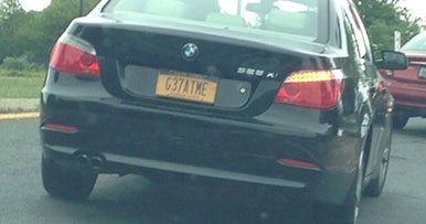Do you have a right to a custom plate?