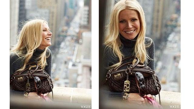 First Look: Gwyneth Shills For Coach