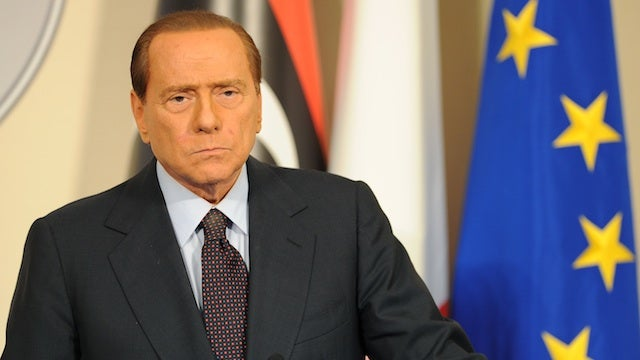 Silvio Berlusconi: Italy Is a 'Shitty' Country