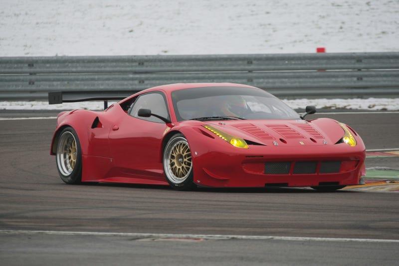 Ferrari 458 GT2 Tears Fiorano a New One