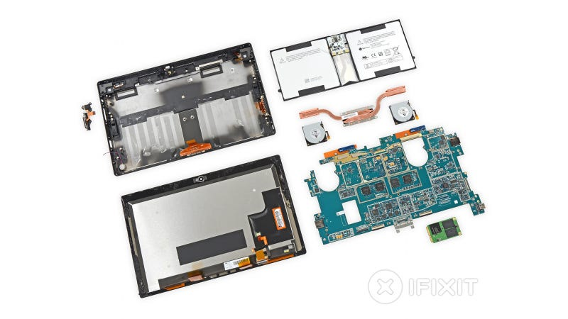 Surface Pro 2 Teardown: New Guts, But Still a Nightmare to Repair
