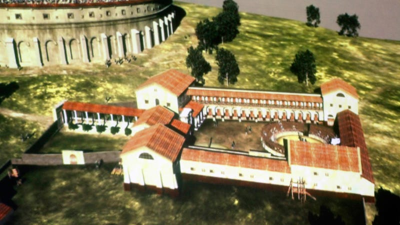 Scientists Use Radar to Unearth Incredible Roman Gladiator School