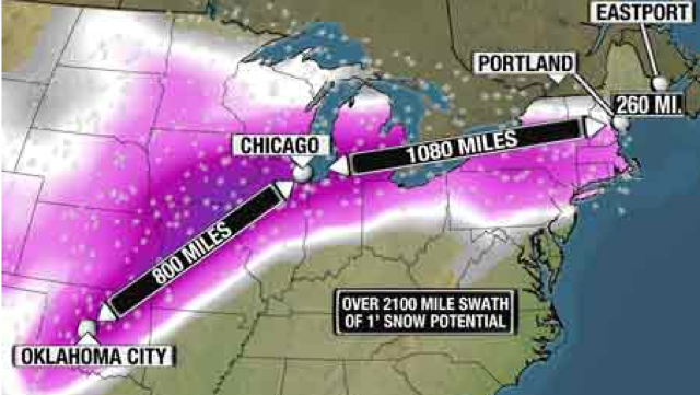 Midwest and Northeast Prepare for Snow and Ice—Again