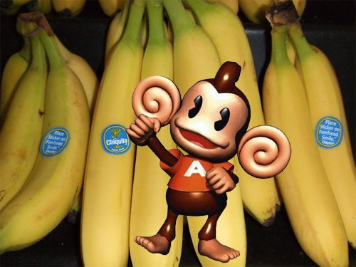 Super Monkey Ball And The Most Appropriate Cross Promotion Ever