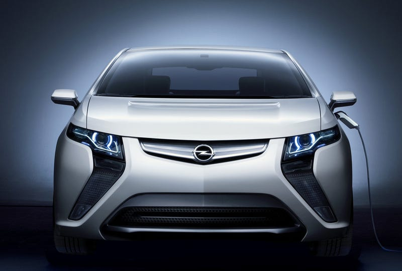 2011 Opel Ampera: Screw The Schedule, Here's The Full Reveal