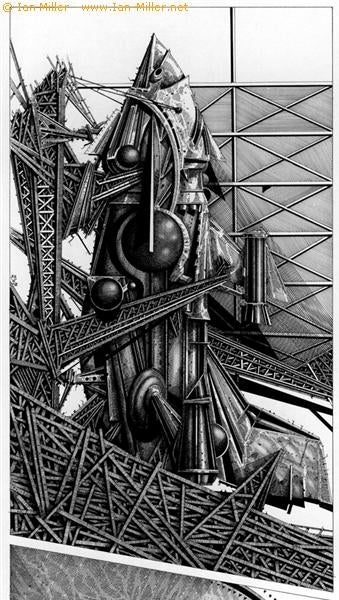 Ian Miller's Geometrically-Exact Surrealism
