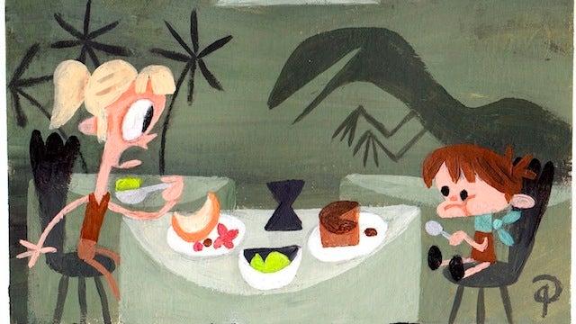 These delightful illustrations make a Jurassic Park children's book seem like a good idea