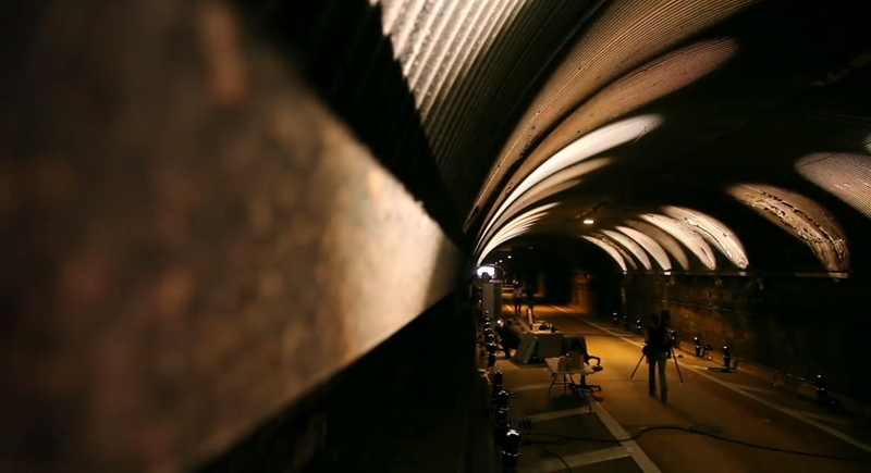 Light Show Lets You Walk Through a NYC Tunnel For the First Time Ever