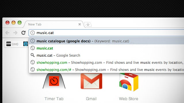Create Short Aliases for Frequently Accessed Pages by Telling Chrome They're Search Engines