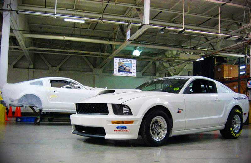 First Production Ford Mustang Cobra Jet FR500CJ Rolls Out