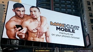 Mormons and Manhunt Have a Good Old-Fashioned Alliterative Billboard Battle