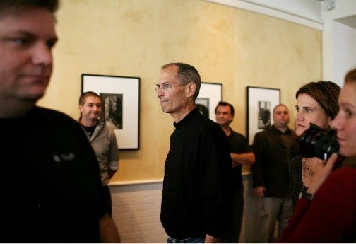 First Sighting of Steve Jobs Officially Back at Work