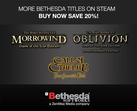 Steam Getting Oblivion, Morrowind
