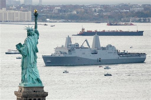 USS New York Warship Is Made With Steel from the Twin Towers