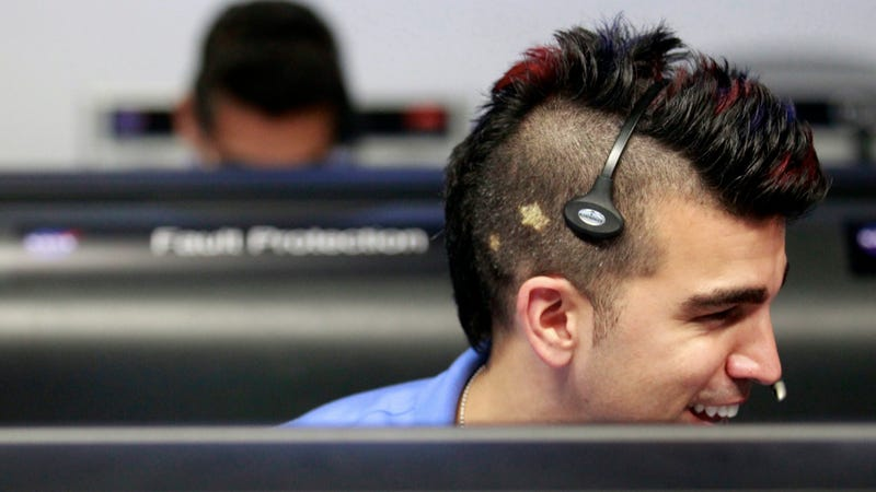 Best Haircut of the JPL Mission Control Team