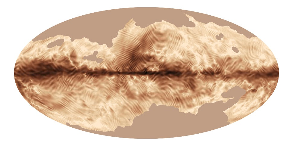 The Strangest Visualization Of The Milky Way We've Ever Seen