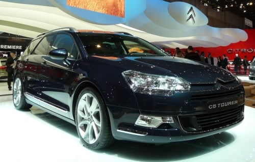 "Citroen C5 Touring Must Be French For ""Hard To Fold Seats"""