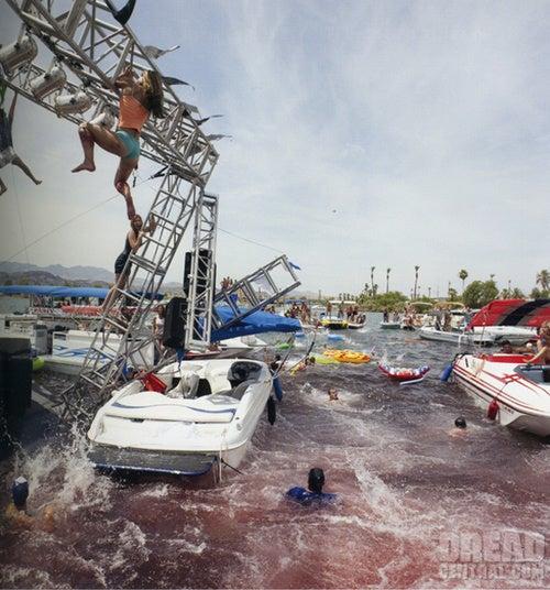 Bloody Bikini Piranha Pics Get Dreyfuss Back Into The Water
