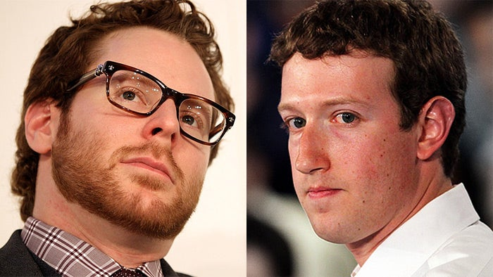 Mark Zuckerberg and Sean Parker Got Into a Drunken Screaming Match