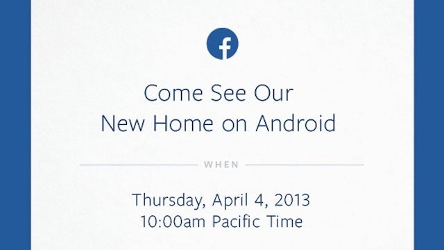 Is Facebook About to Announce a Facebook Phone Running Android?