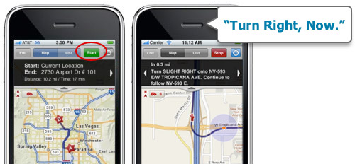 MapQuest 4 Mobile Brings Free Turn-by-Turn, Voice-Guided GPS to iPhone
