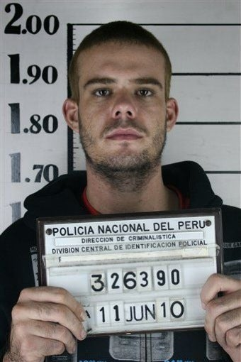 Irony: Joran Fears For His Life In Peruvian Prison