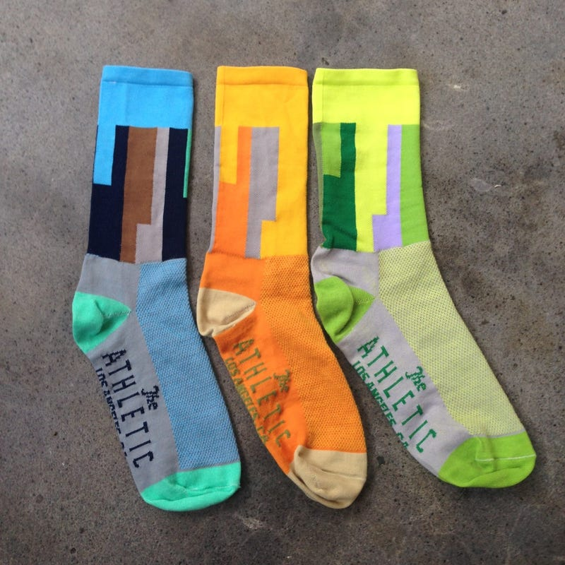 Dress to Match LAX's Colorful Tunnels With These Brilliant Socks