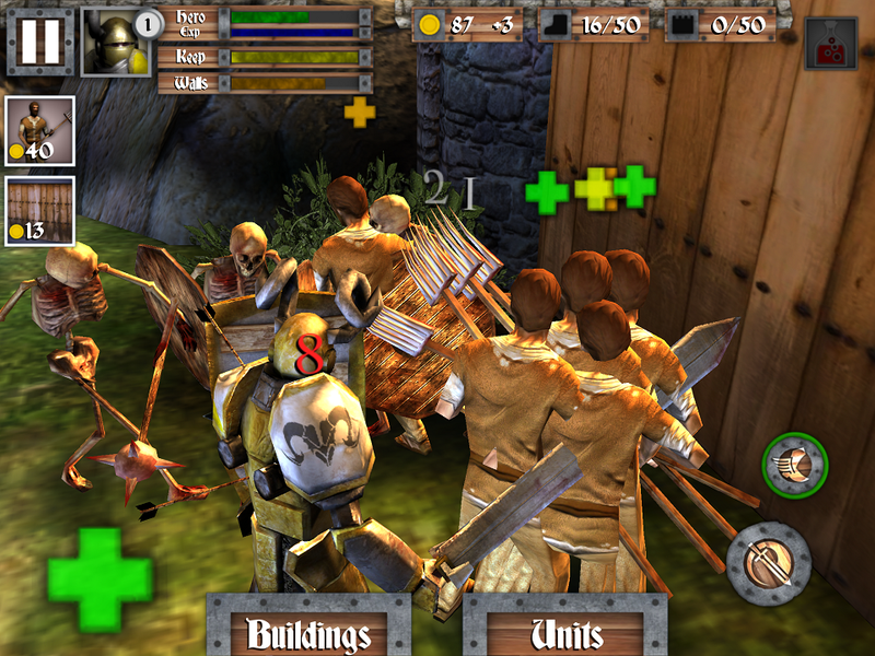 Heroes, Castles, And One Janky Tower Defense Game