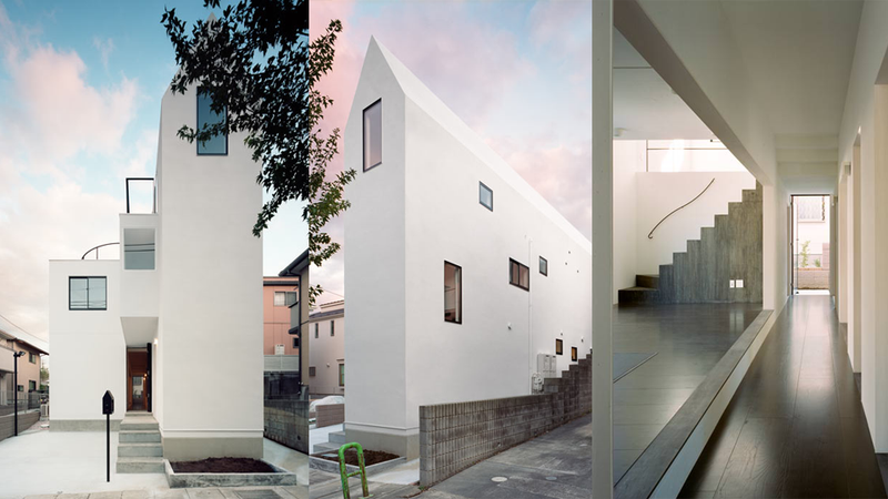 A Thin House Is The Perfect Solution for a Crowded Neighborhood