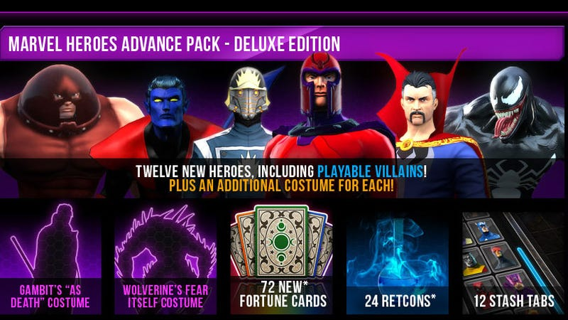 Marvel Heroes Readies $130 Worth Of Heroes And Villains For 2014