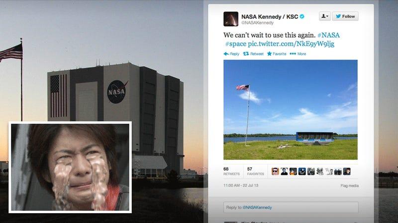 NASA Tweets the Saddest Tweet of the Year