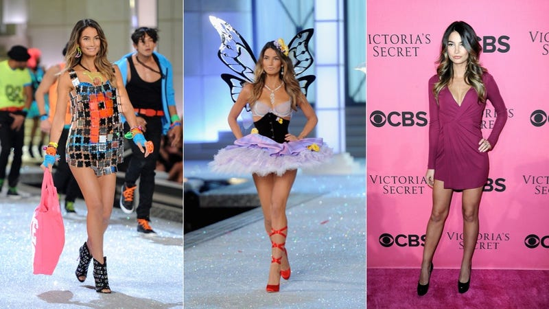 Another Victoria's Secret Model Allegedly Pregnant On The Catwalk: Lily Aldridge