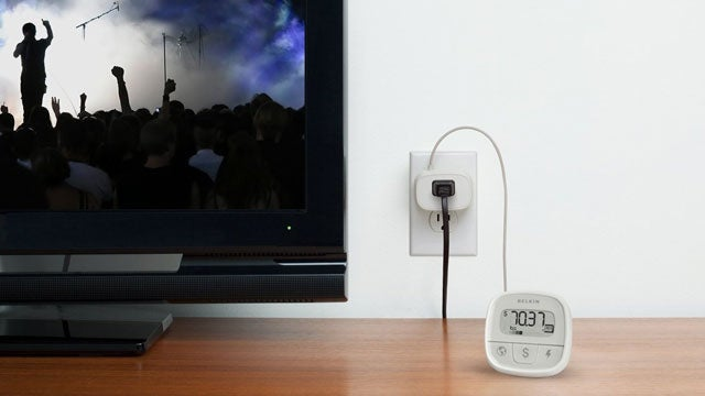 Belkin Conserve Insight Energy-Use Monitor Keeps Tabs on Any Power Outlet